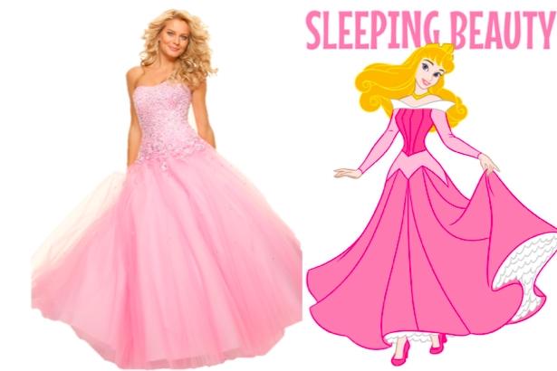 Những chiếc váy cưới lấy cảm hứng từ các nàng công chúa Disney