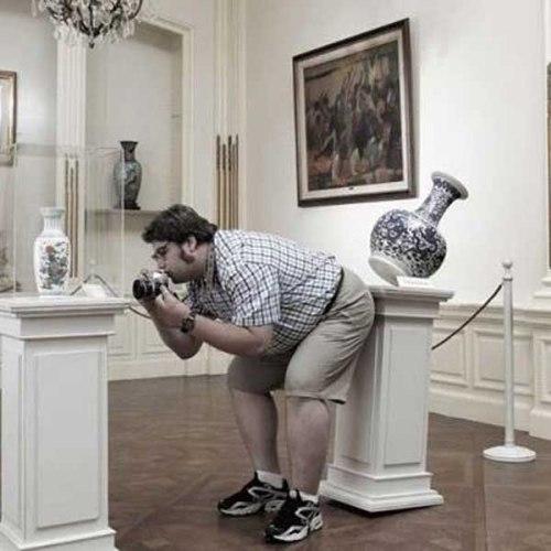 Cười rụng rốn với những kiểu chụp ảnh có 1 không 2