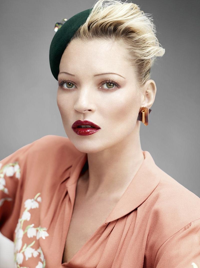 Đẹp như sao - Bài học làm đẹp từ Kate Moss
