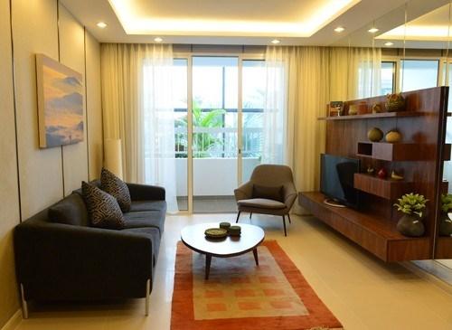 Chiêm ngưỡng những phòng khách tuyệt đẹp nhà sao Việt