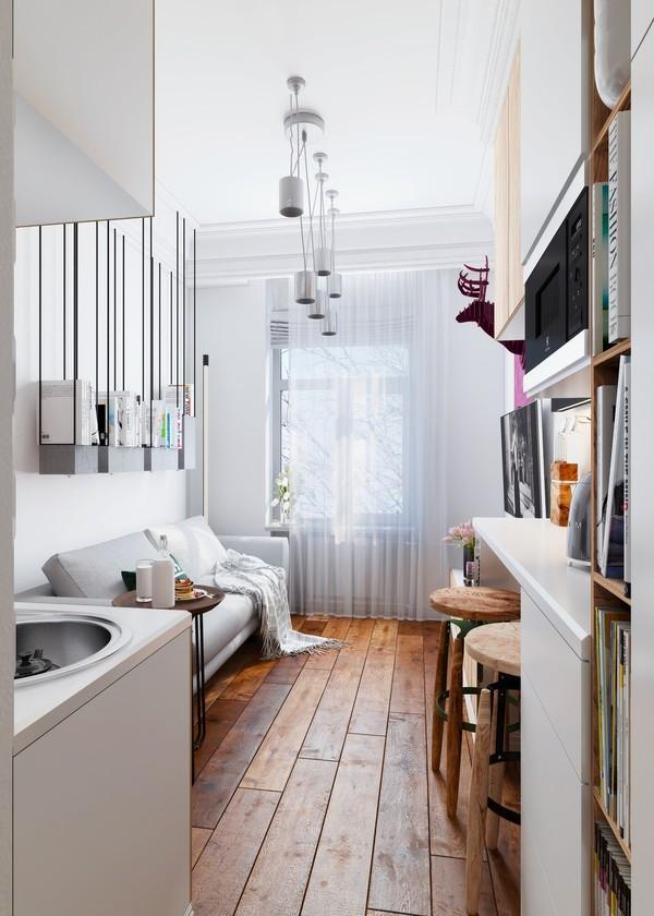 Căn hộ 15 mét vuông khiến người người, nhà nhà phải thổn thức vì quá đẹp