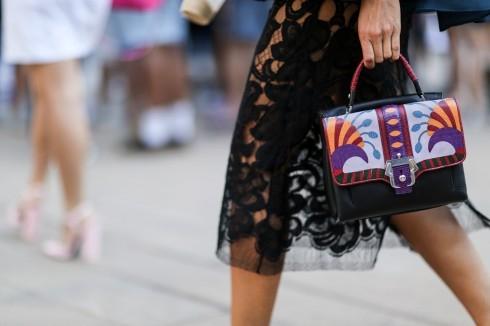 Phụ kiện thời trang ấn tượng trên đường phố New York