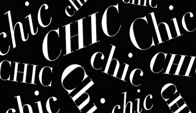 Hồ sơ thời trang: Lịch sử từ chic trong thời trang