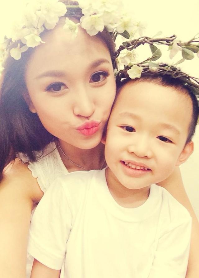 Mỹ nhân Việt mạnh mẽ vượt khó khi làm mẹ đơn thân