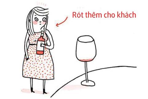 Những nguyên tắc cần nhớ khi uống rượu vang trong các buổi tiệc