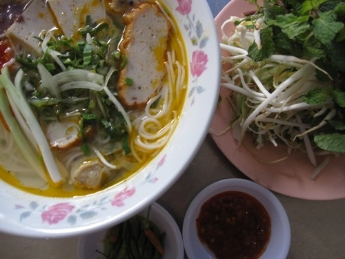 Những món bún cá hấp dẫn ở Sài Gòn