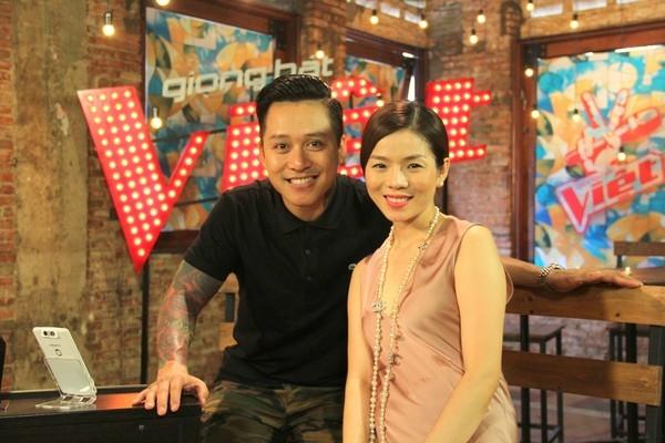 Diva Hồng Nhung đồng hành cùng Thu Phương tại Giọng hát Việt 2015