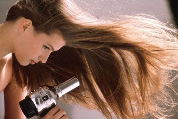 cách làm khô tóc