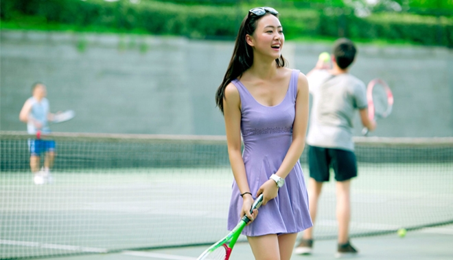 Bestie choi tennis
