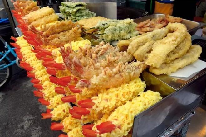 món ăn hàn quốc tempura