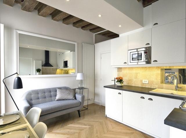Ngắm căn hộ 21 mét vuông đẹp đến ngỡ ngàng sau cải tạo