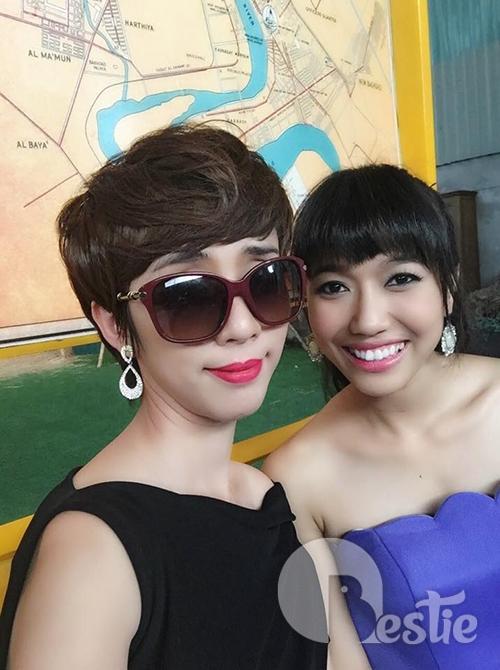 Thu Trang - Diệu Nhi: