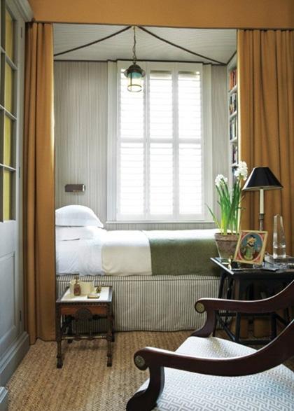 cách bố trí phòng ngủ nhỏ hẹp