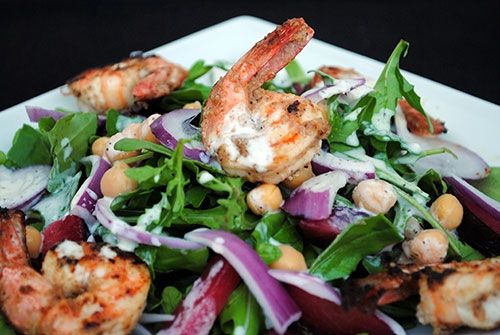 các món có vị cay salad