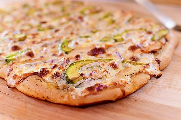 cách làm pizza gà
