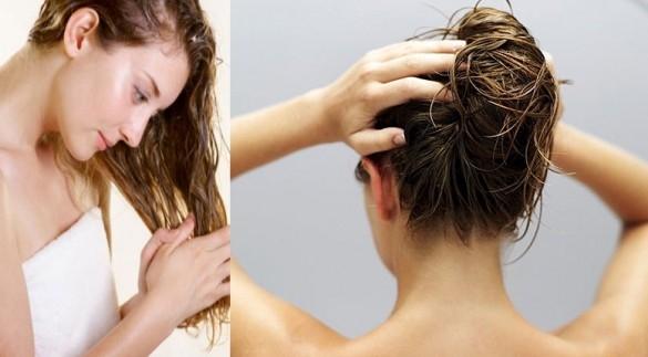 tóc hư tổn do cột quá chặt