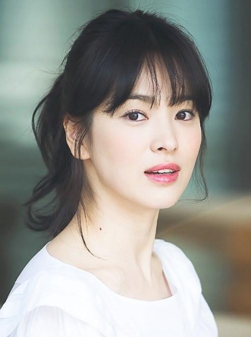 Tự cắt mái thưa Hàn Quốc cực xinh