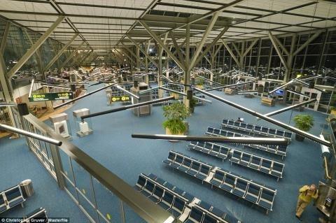 những sân bay đẹp nhất thế giới