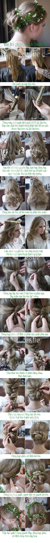 DIY: Tóc búi xinh như người mẫu của Dolce & Gabbana