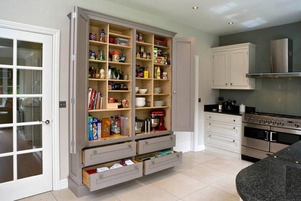 các mẫu tủ bếp đa năng