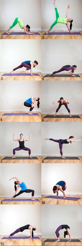 12 động tác yoga giúp bạn trở thành nữ hoàng bikini