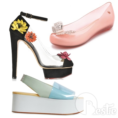 Những đôi giày đi mưa tuyệt đẹp cho nàng