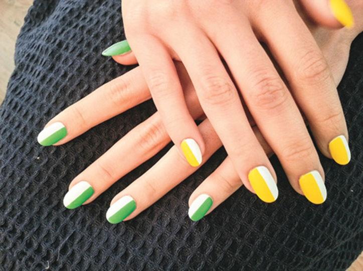 bestie nails trend
