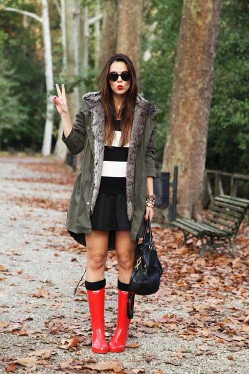 sai lầm khi mặc đồ ngày mưa