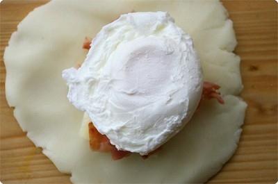 Khoai tây bọc trứng béo ngậy khó cưỡng