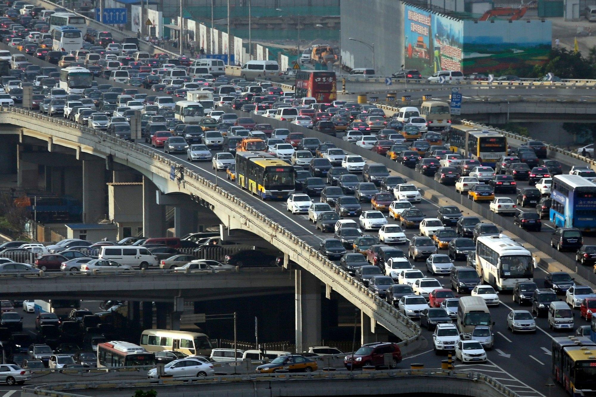 Ùn tắc giao thông có thể kinh khủng tới cỡ nào?