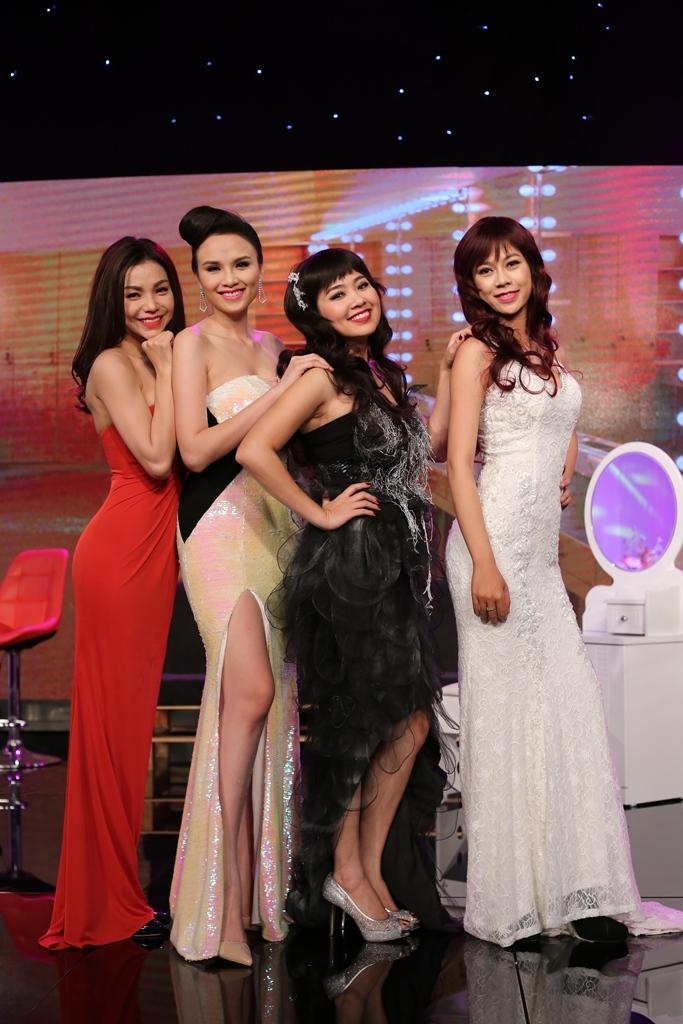 Hoa hậu Diễm Hương cạnh tranh sắc đẹp cùng Trà Ngọc Hằng