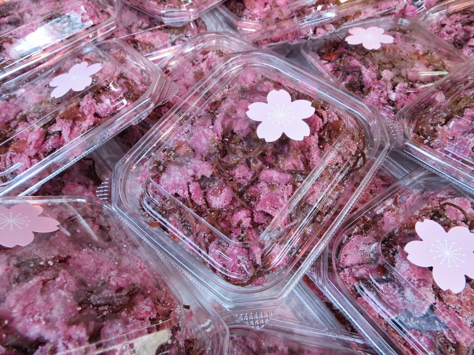 Mê đắm những món ăn từ hoa anh đào