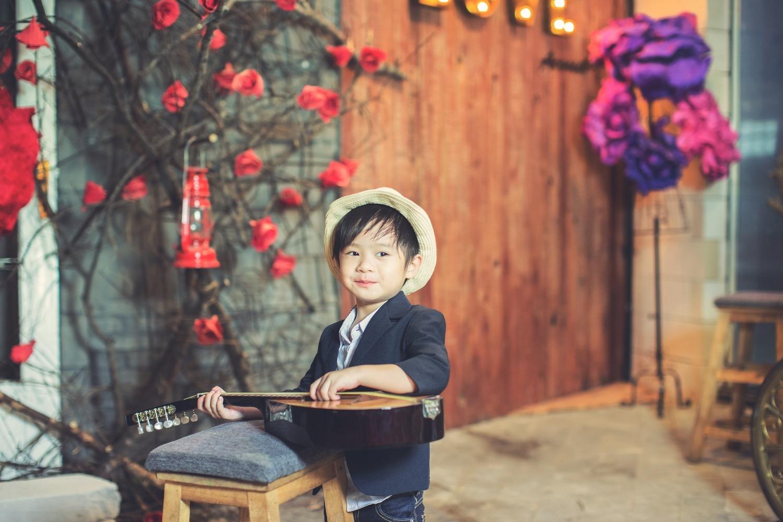 Phát cuồng trước vẻ đáng yêu của gia đình Lý Hải - Minh Hà