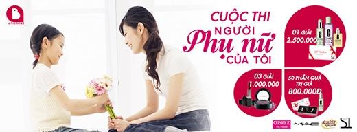 Quà tặng giá trị từ ChannelB nhân ngày Phụ nữ Việt Nam