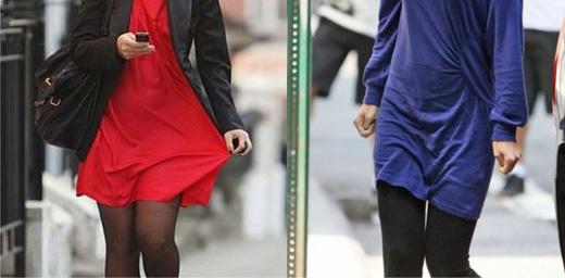 Hiện tượng tĩnh điện ở quần áo (Ảnh: Internet)