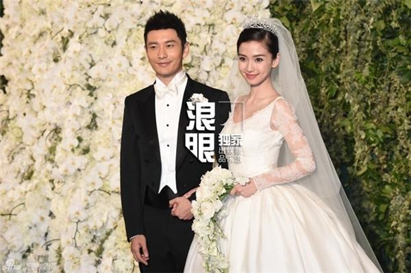 Đám cưới AngelaBaby và Huỳnh Hiểu Minh chấn động showbiz.