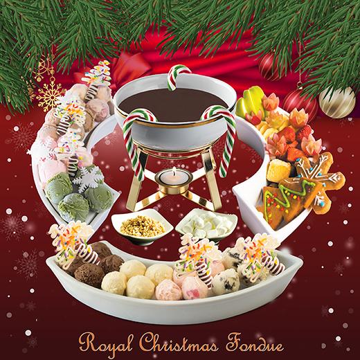 Mê mẩn với món tráng miệng Giáng sinh siêu cao cấp
