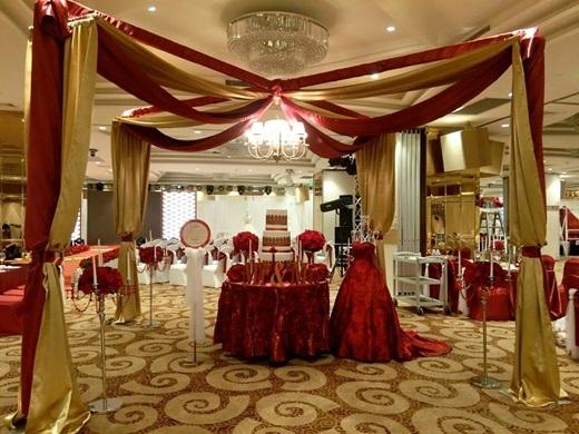 Sốt sình sịch với trào lưu trang trí hoa tươi trong ngày cưới
