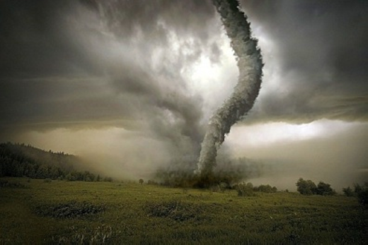 Lốc xoáy... (Ảnh: Internet)