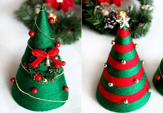 Hoặc chỉ đơn giản là một cây Noel với sắc màu và kiểu trang trí truyền thống ấm cúng. (Ảnh: Internet)