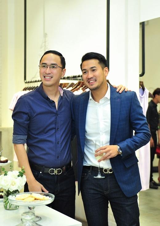 Em chồng Hà Tăng - Phillips Nguyễn cũng đến ủng hộ chị dâu. - Tin sao Viet - Tin tuc sao Viet - Scandal sao Viet - Tin tuc cua Sao - Tin cua Sao