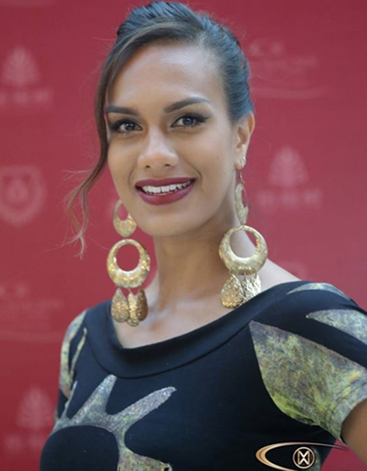 Hoa hậu Fiji, Brittany Hazelman (Ảnh: Miss World)