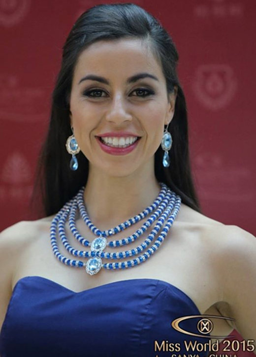 Thí sinh đến từ New Zealand, Samantha McClung (Ảnh: Miss World)
