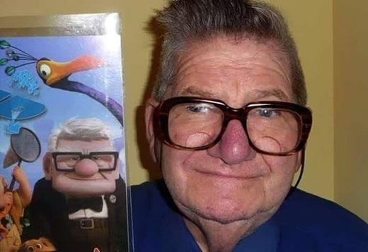 Ông cụ khó chịu trong phim hoạt hình Up là có thật đấy các bạn ạ.(Ảnh: Internet)