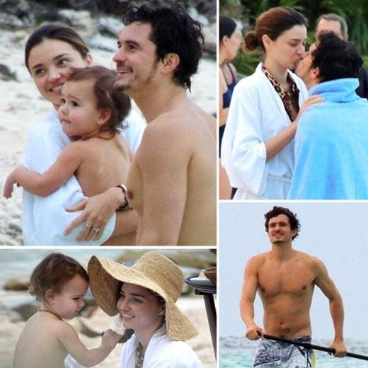 Những hình ảnh bụ bẫm đáng yêu của Flynn bên cạnh bố mẹ. (Ảnh: Internet)