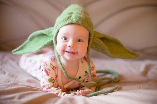 Mũ dựa theo nhân vật Yoda trong phim Star Wars. (Ảnh: Internet)