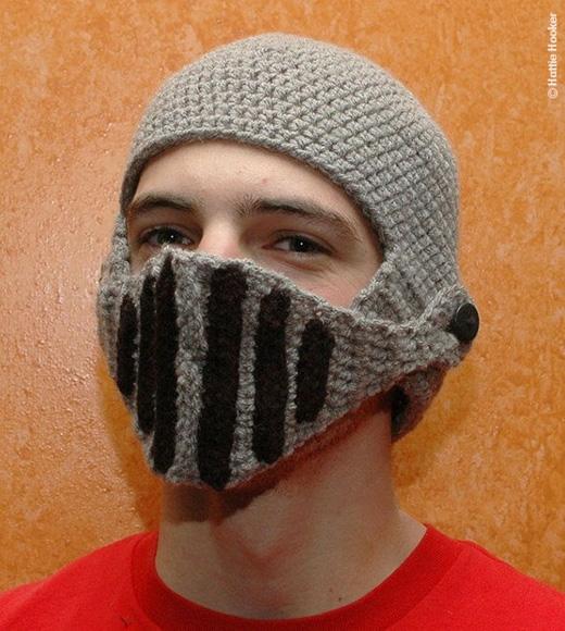 Hay kiểu nón sắt chiến binh. (Ảnh: Internet)