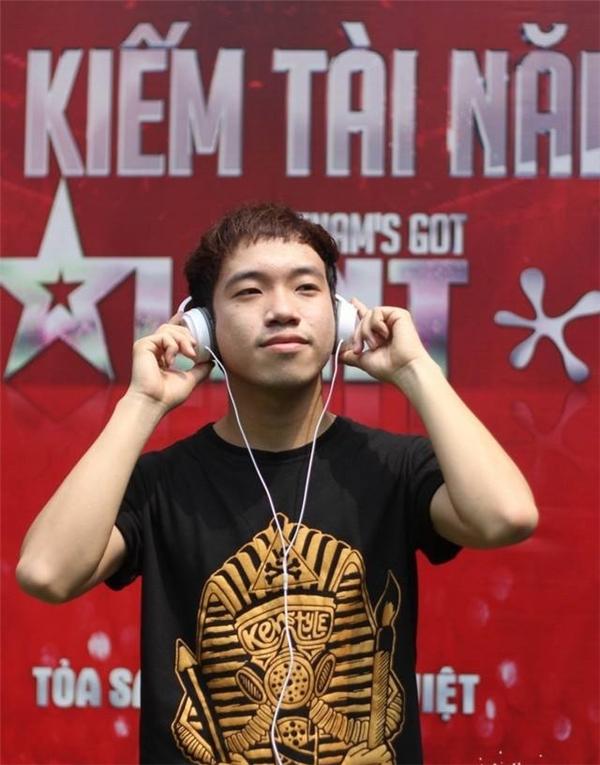 Thái Sơn tại cuộc thi Vietnam's Got Talent.(Ảnh: Facebook)