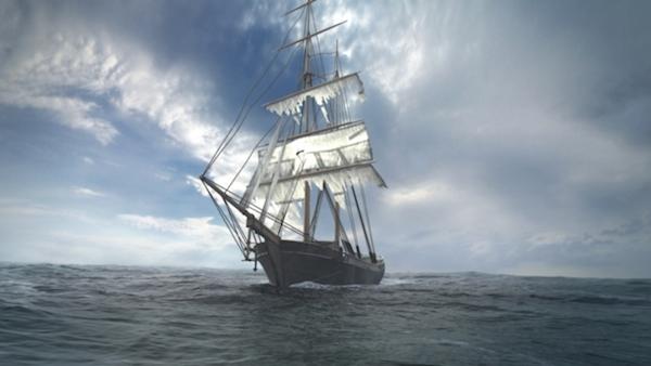 Ngày 5/10/1872, con tàu mang tên Mary Celeste rời New York đến Genoa, trên đó có 7 thành viên cùng gia đình thuyền trưởng Benjamin Briggs (gồm vợ và cô con gái 2 tuổi). Ngày 4/12 năm đó, người ta thấy con tàu đang trôi dạt trên Đại Tây Dương. Khi lên tàu, người ta thấy vẫn còn đầy đủ trái cây, nước ngọt... trong tình trạng mới nguyên nhưng không hề có ai trên đó. Sự mất tích này vẫn đang khiến giới khoa học đau đầu trong hơn 135 năm qua. (Ảnh: Oddee)