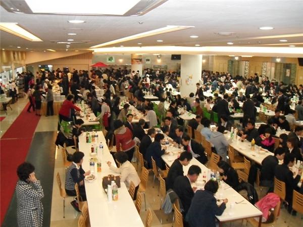 Khách mời đông đúc đã trở thành thước đo đánh giáđịa vị của người dân xứ kim chi. (Ảnh: Internet)